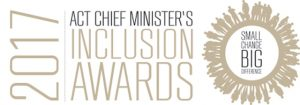2017 Chief Minister's Inclusion Awards logo