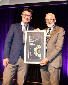 Graham Waite from TADACT accepting award